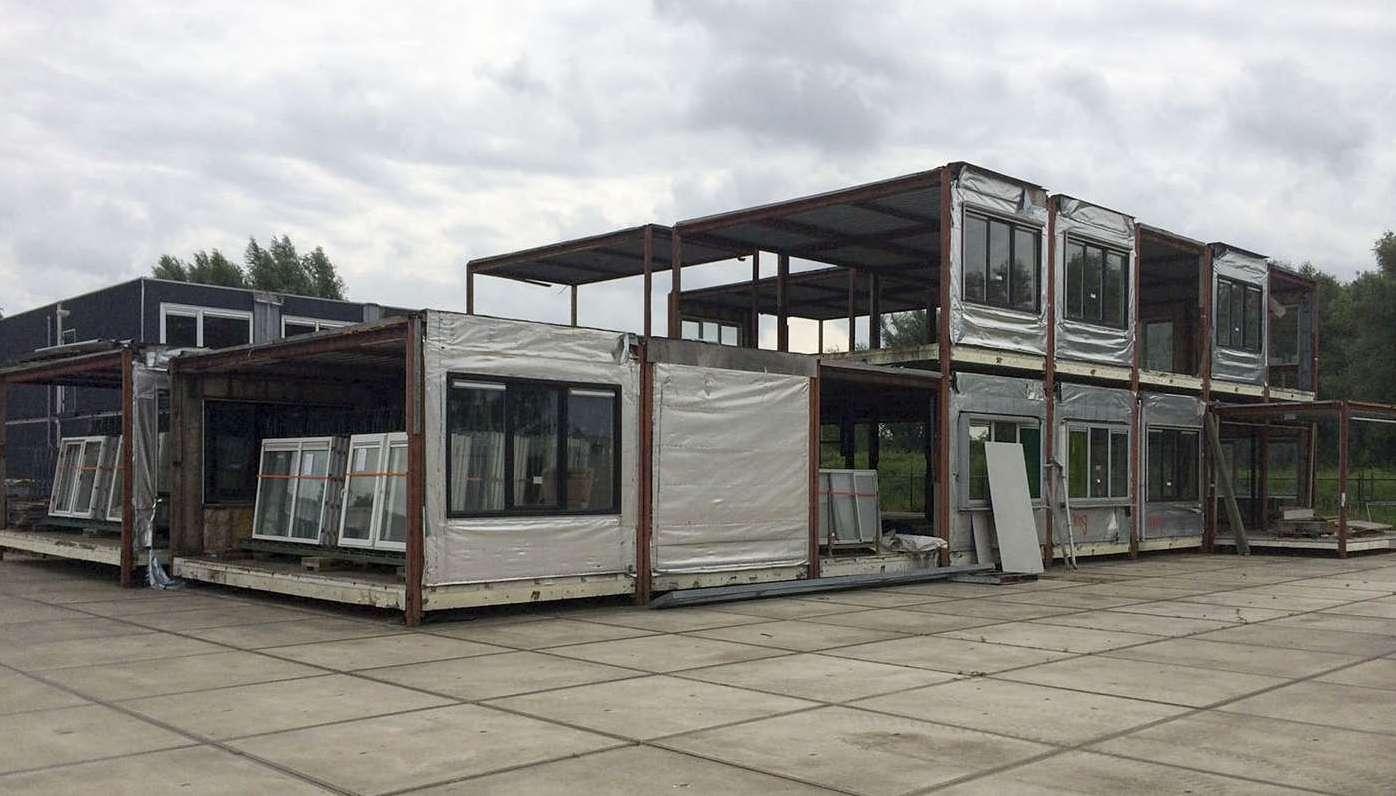 Circulair gebouw 05 units before