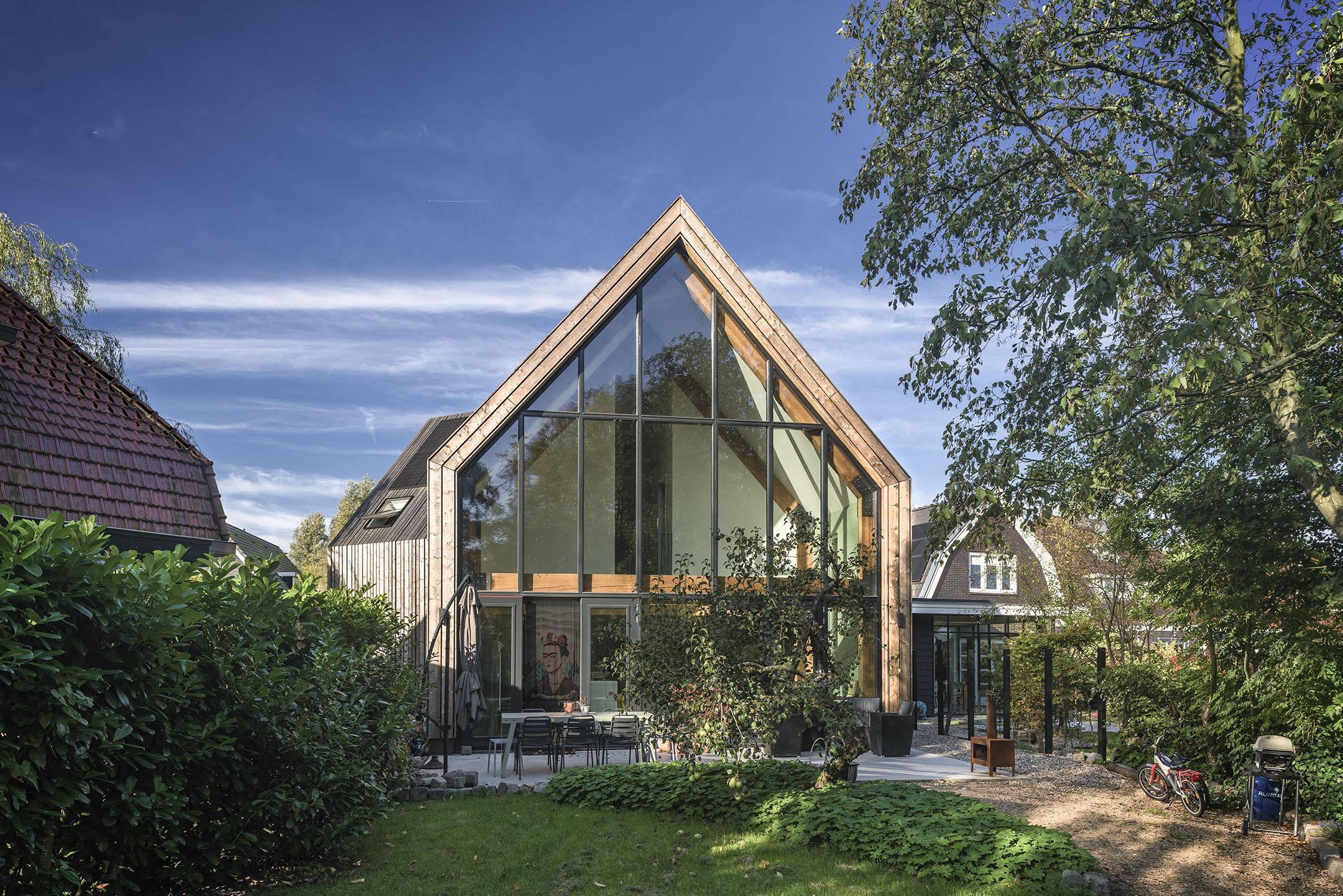Huis Ontworpen Door Ecologische Architect