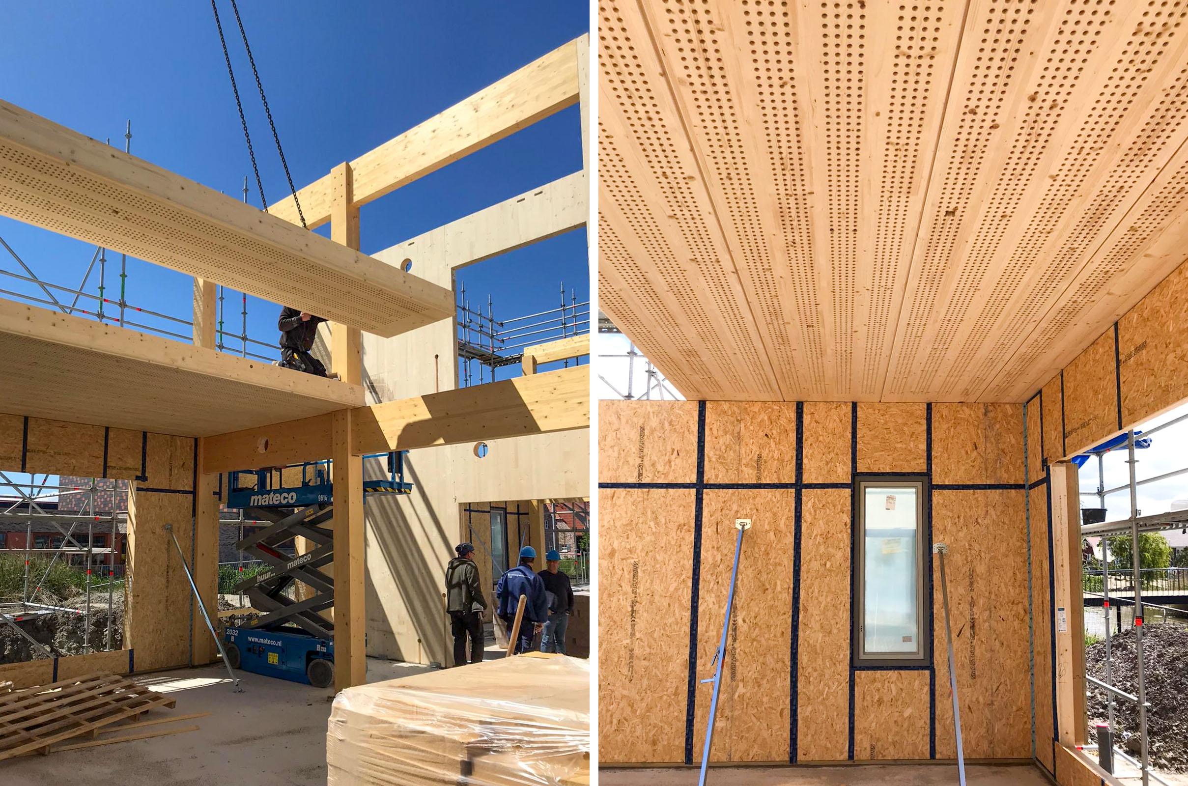 Orga Architect Bouw Eco School 003 Plaatsen Lignatur