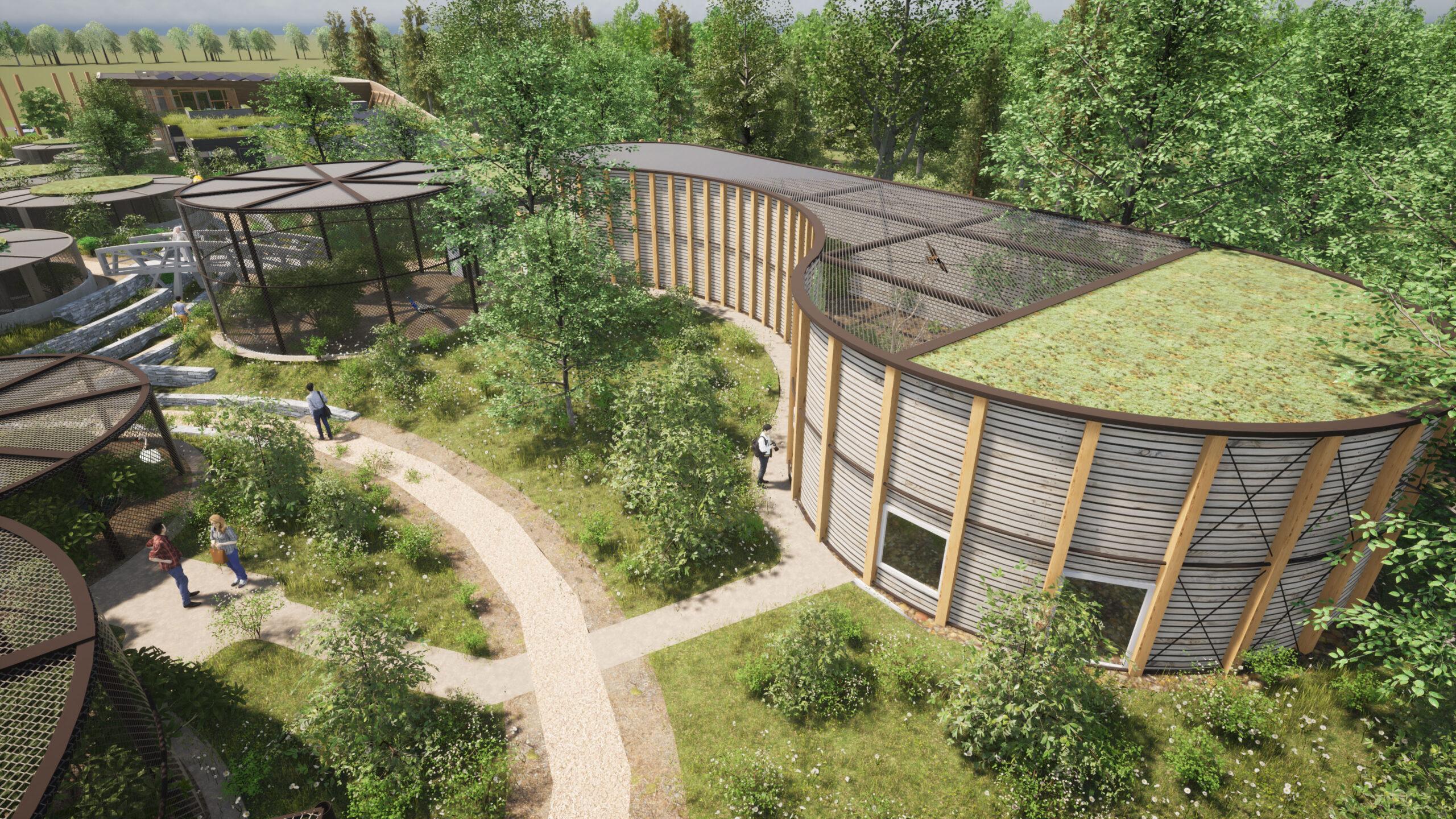 Orga Architect Bouw Avolare 014 Roofvogelverblijf