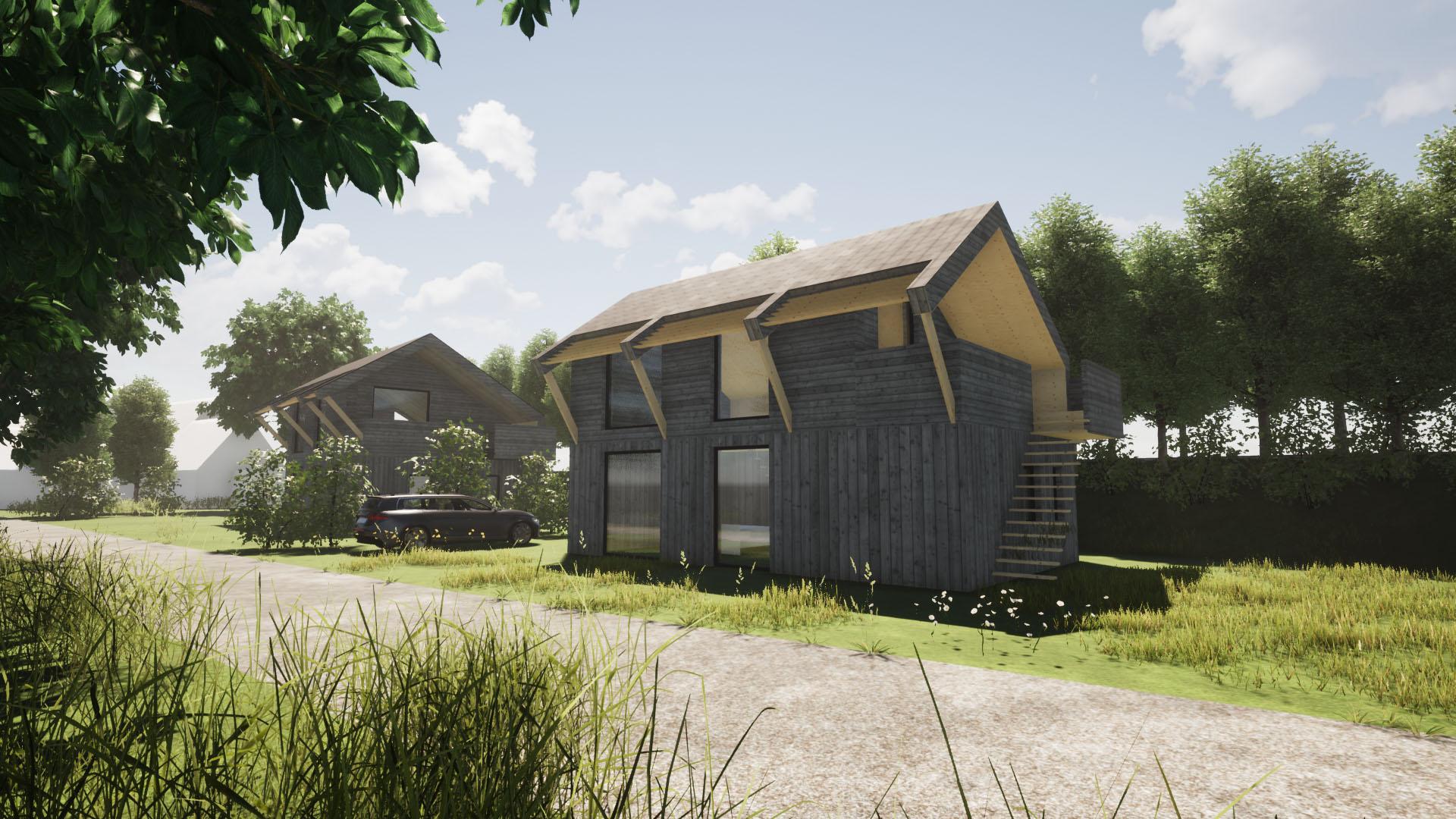 Orga Architect Natuurgoed Ziedewij Dijkwoningen