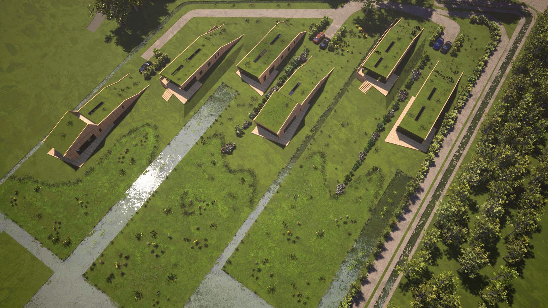 Orga Architect Natuurgoed Ziedewij Polderwoningen